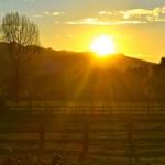 Amberfields B&B stunning sunsets